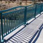 Decorative Wave Handrails